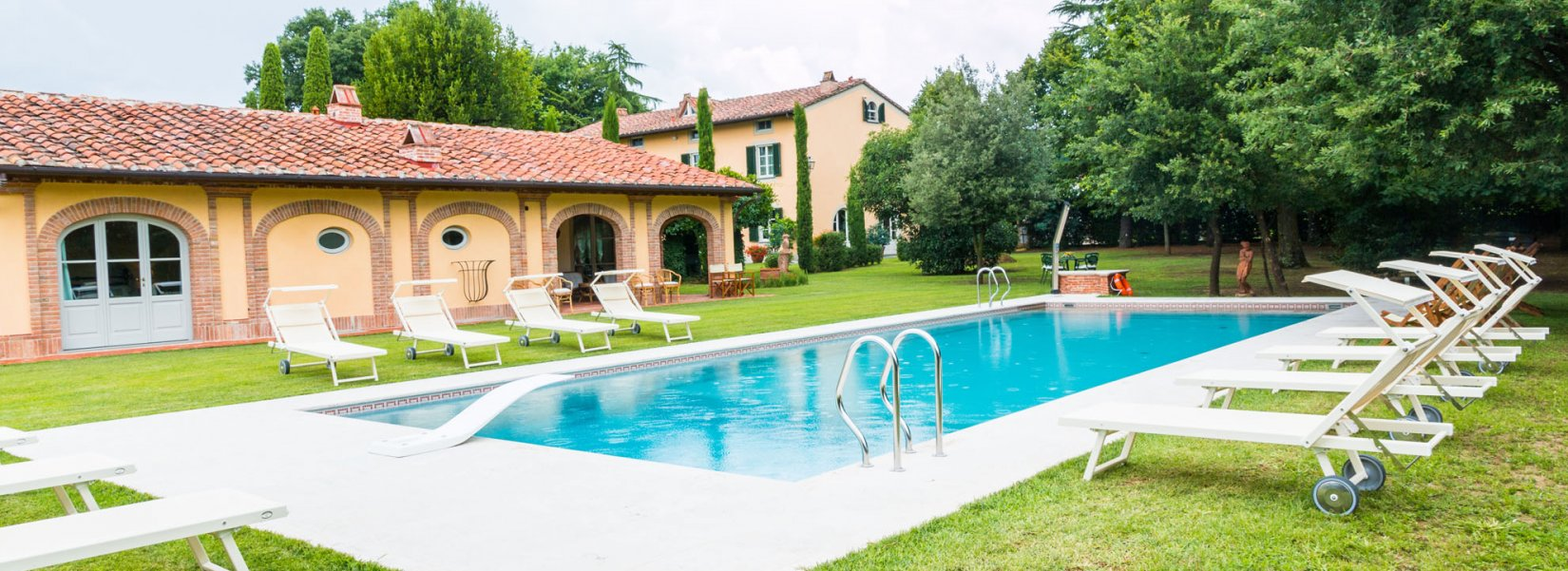 Heated pool Toscana